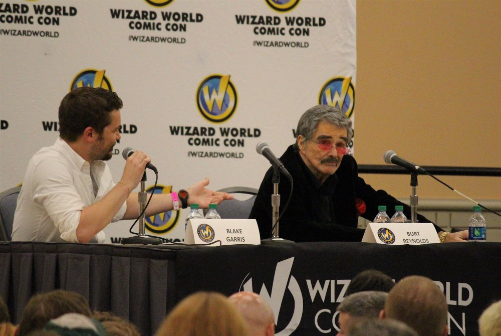 Burt Reynolds Comic Con 2015