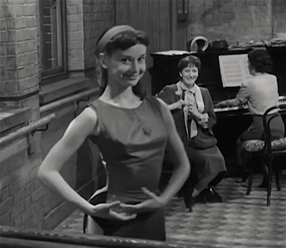 Audrey Hepburn in Secret People