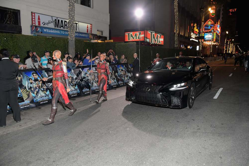 World Premiere of Marvel Studios Black Panther, presented by Lexus
