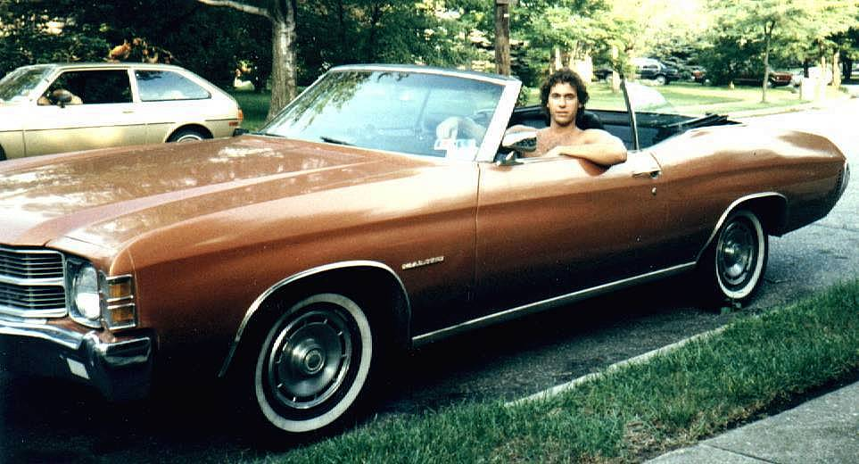 Family-Steve & 1971 Chevy Malibu